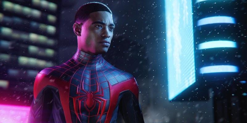 Caratula oficial para Spider-Man Miles Morales