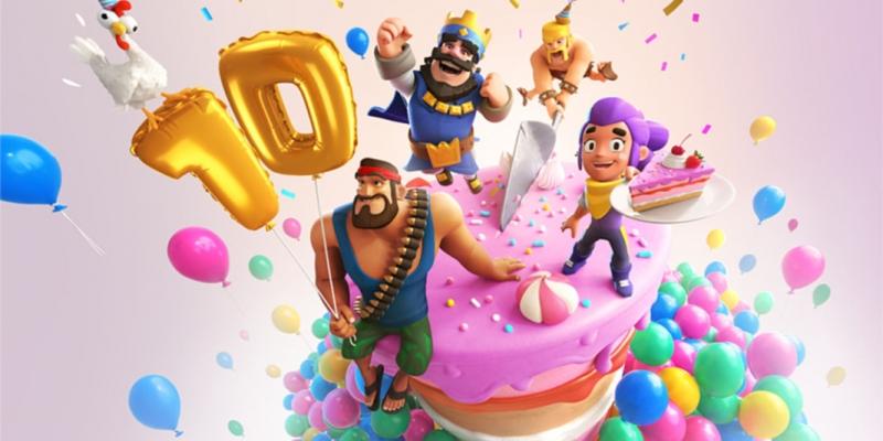 Clash Royale celebra los 10 años de sus creadores