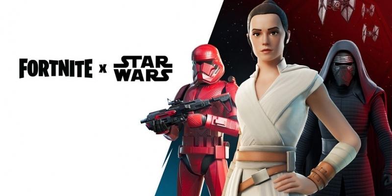 Epic Fortnite celebra Star Wars