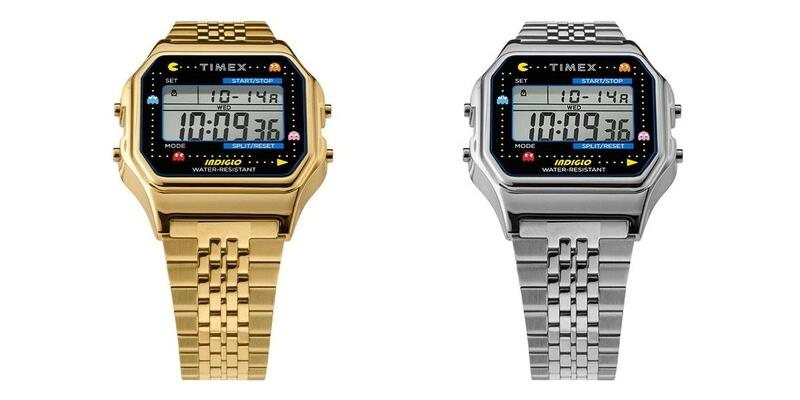 Los relojes de Pac-Man