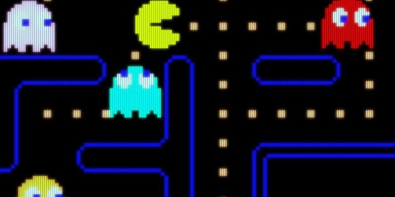 Pac-Man con caramelos