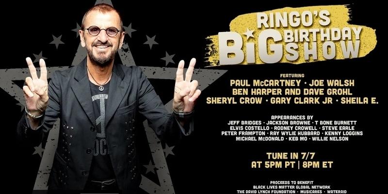 Ringo Starr celebró su 80 cumpleaños con un concierto en YouTube