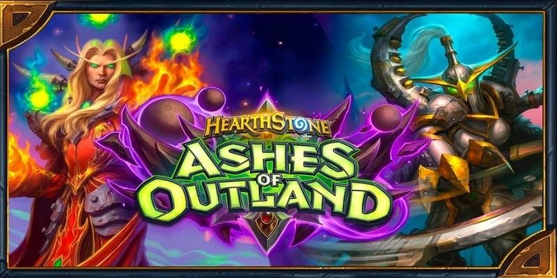 La expansión de Hearthstone Ashes of Outland