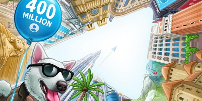 Telegram celebra 400 millones de usuarios