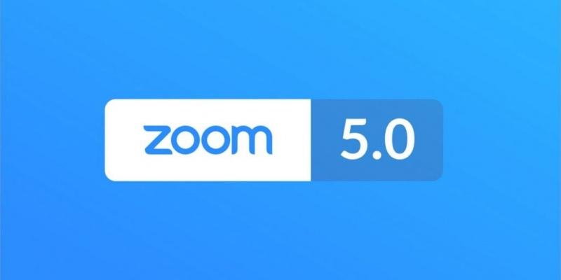 Detalles de la versión 5.0 de  Zoom Cloud Meeting